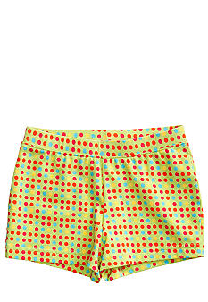 J Khaki Mini Gum Dot Short Girls 4-6x