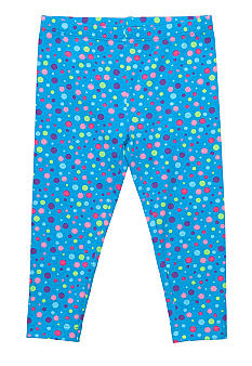 J Khaki Printed Legging Girls 4-6X