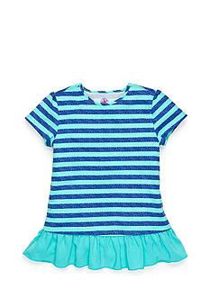 J Khaki™ Stripe Babydoll Top Girls 4-6x