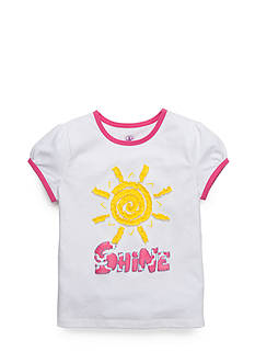 J Khaki™ 'Shine' Tee Girls 4-6x