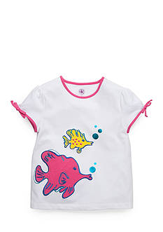J Khaki™ Fish Tee Girls 4-6x