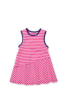 J Khaki™ Stripe Babydoll Tank Top Girls 4-6x