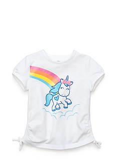 J Khaki™ Printed Unicorn Top Girls 4-6x