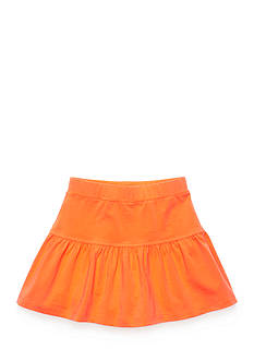J Khaki™ Solid Knit Ruffle Scooter Girls 4-6x