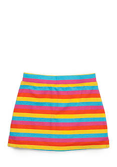 J Khaki™ Rainbow Striped Scooter Skirt Girls 4-6x