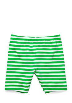 J Khaki™ Stripe Biker Shorts Girl 4-6x