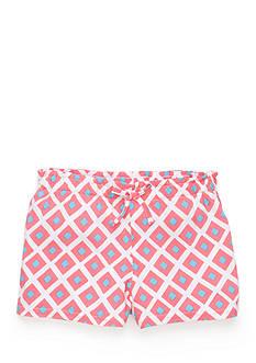J Khaki™ Geo Print Woven Shorts Girls 4-6x