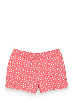 J Khaki™ Knit Polka Dot Shorts Girls 4-6x