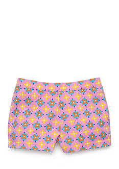 J Khaki™ Geo Print Shorts Girls 4-6x