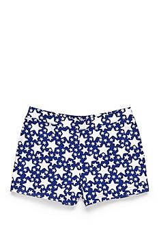 J Khaki™ Star Print Shorts Girls 4-6x