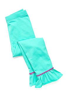 J Khaki™ Solid Ruffle Leggings Girls 4-6x