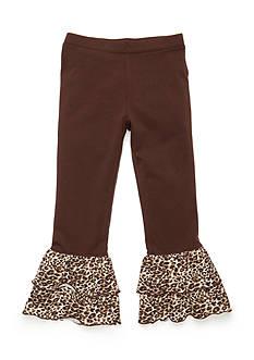 J Khaki™ Animal Ruffle Pant Girls 4-6X