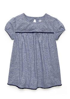 J Khaki™ Solid Heathered Babydoll Top Girls 4-6x