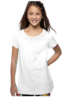 J Khaki Baby-doll Tee Girls 7-16