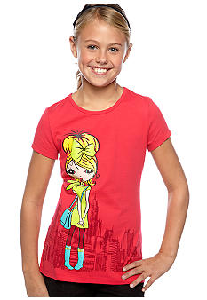 J Khaki Girl In The City Tee Girls 7-16