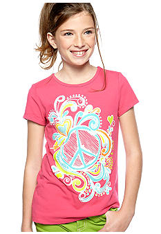 J Khaki Peace Tee Girls 7-16