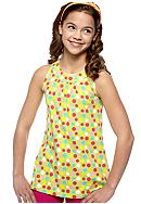 J Khaki™ Dot Printed Knit Babydoll Top Girls 7-16