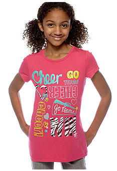 J Khaki Cheer Tee Girls 7-16