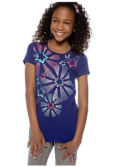 J Khaki Starburst Tee Girls 7-16