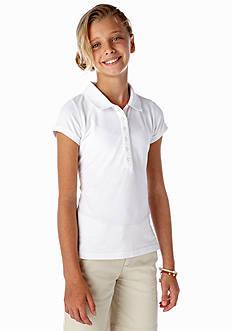 J Khaki™ Short Sleeve Pique Polo Girls 7-16