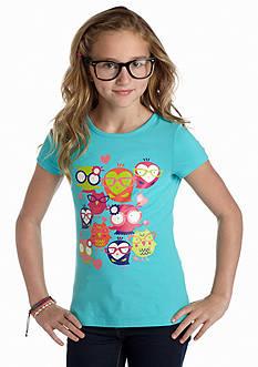 J Khaki™ Knit Multi Owls Tee Girls 7-16