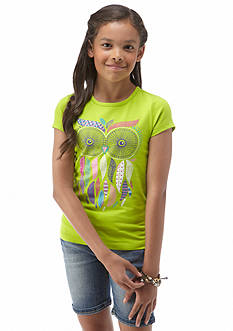 J Khaki™ Owl Screen Tee Girls 7-16