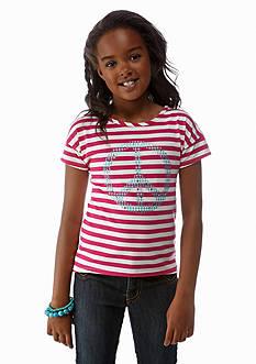 J Khaki™ Sequin Peace Top Girls 7-16