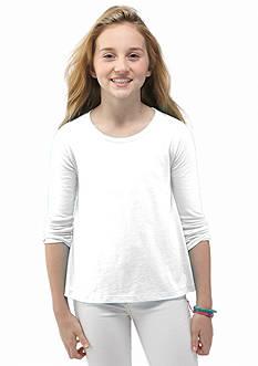 J Khaki™ Long Sleeve Solid Top Girls 7-16