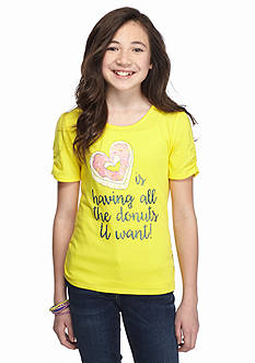 J Khaki™ Donuts Short Sleeve Tee Girls 7-16