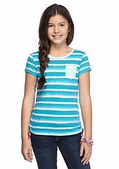 J Khaki™ Stripe Pocket Tee Girls 7-16