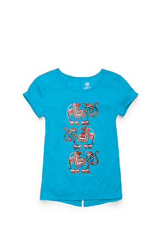 J Khaki™ Stacked Elephant Top Girls 7-16
