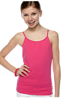 J Khaki Core Solid Cami Girls 7-16