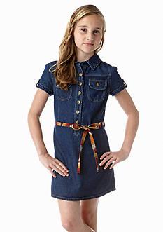 J Khaki™ Belted Denim Dress Girls 7-16