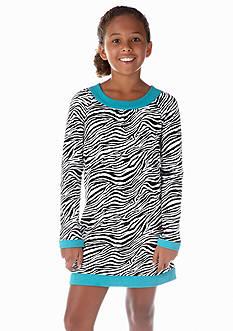 J Khaki™ Zebra U-Neck Dress Girls 7-16