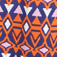 Kids Dress Clothes: Casual: Tangerine J Khaki™ Bow Back Printed Dress Girls 7-16