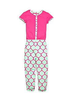 J Khaki™ Geo Print Jumpsuit Girls 4-6x