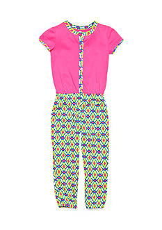 J Khaki™ Print Jumpsuit Girls 4-6x