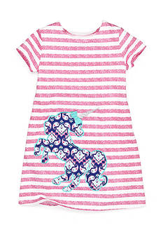 J Khaki™ Unicorn Stripe Dress Girls 4-6x