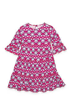 J Khaki™ Paisley Print Dress Girls 4-6x