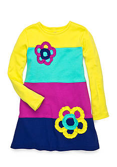 J Khaki™ Colorblock Knit Dress Girls 4-6x