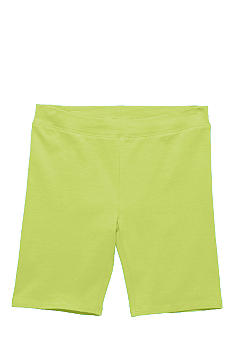 J Khaki Solid Knit Bike Shorts Girls 7-16