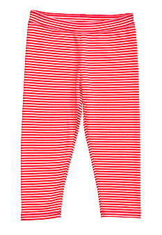 J Khaki Capri Stripe Legging Girls 7-16
