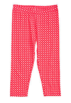 J Khaki Capri Knit Dot Legging Girls 7-16