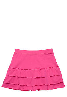 J Khaki Tiered Skirt Girls 7-16