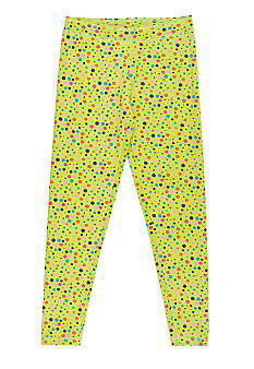 J Khaki Dot Ankle Legging Girls 7-16
