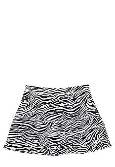 J Khaki Zebra Printed Skirt Girls 7-16