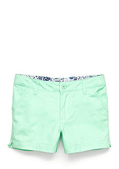 J Khaki™ Solid Twill Shorts Girls 7-16