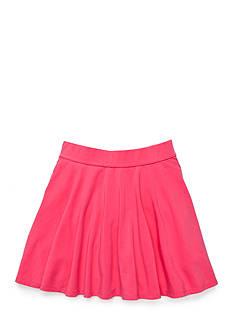 J Khaki™ Solid Skater Skirt Girls 7-16