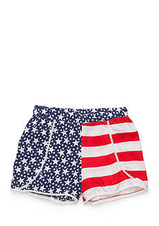 J Khaki™ American Pom Pom Soft Shorts Girls 7-16