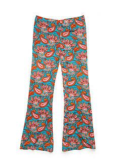 J Khaki™ Paisley Printed Flare Pants Girls 7-16